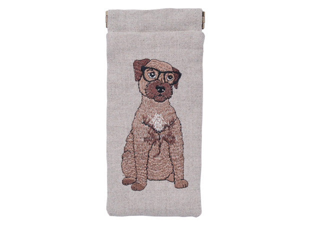 Border Terrier Glasses Case