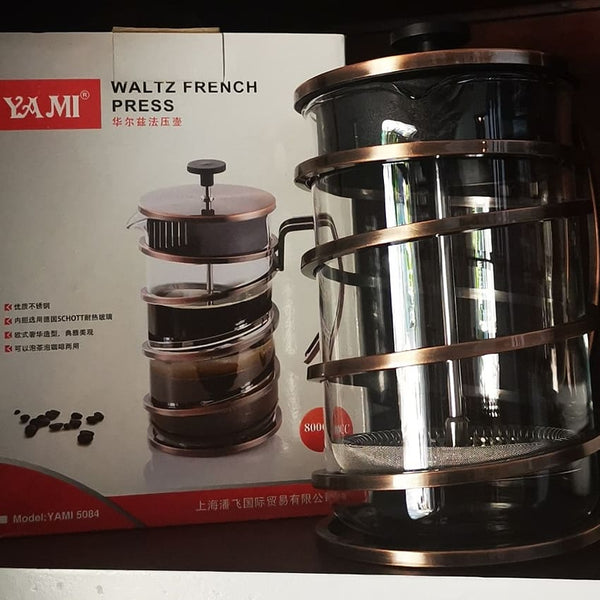 FRENCH PRESS COFFEE AND TEA MAKER 800ml