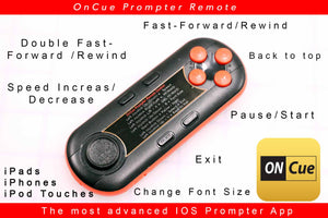 OnCue Prompter Remote