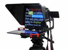Load image into Gallery viewer, PROIPEX Universal Smartphone -Tablet - iPad Teleprompter