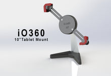 "Load image into Gallery viewer, iO360 10"" Universal Tablet Desktop Mount"