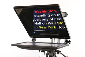 G2R-17R Teleprompter with reversing monitor