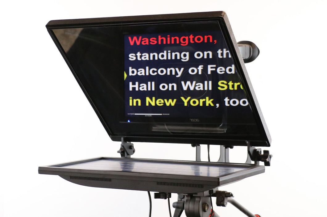 G2R-19R Teleprompter with Reversing Monitors