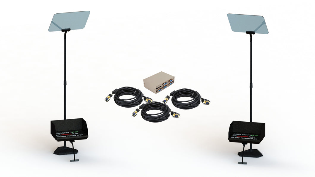 TSP2-15-BUN-HB Sunlight Readable Presidential Teleprompter Bundle