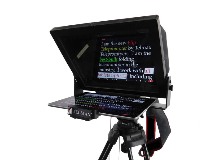 FLIP PROMPTER™ - folding iPad and tablet Teleprompter