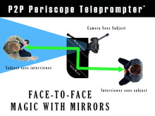 Load image into Gallery viewer, Telmax P2P Face-to-Face Interview Periscope & Teleprompter