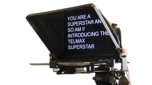 "Telmax SuperStar 9.7"" iPad - and 10"" Tablet Teleprompter"