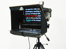 "Load image into Gallery viewer, TELMAX WS-17 with a 17"" Wide Screen Monitor and PortaBrace Case"
