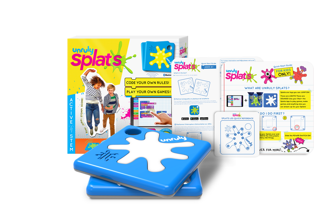Unruly Splats 2-Pack Trial | Coding for Kids | Active STEM Learning