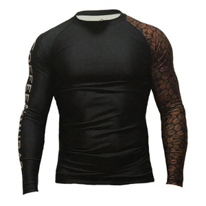 C&K Signature Long Sleeve Rashguard - Coffee&Kimuras Coffee And Kimuras BJJ Jiu Jitsu MMA Apparel