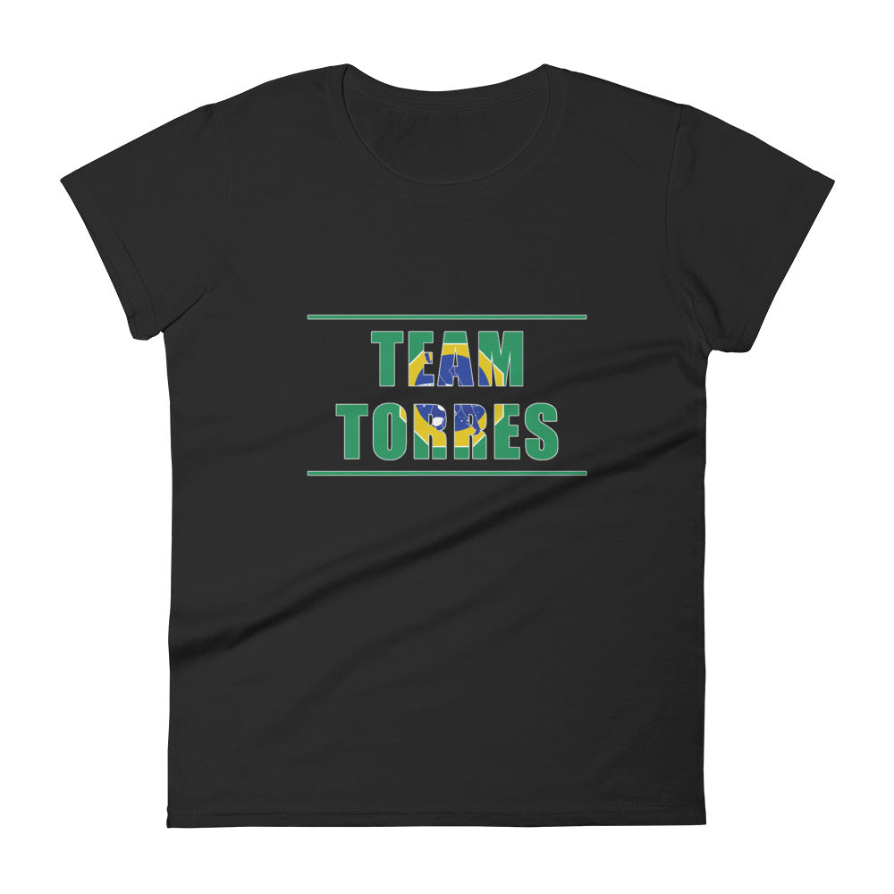Team Torres Women's Short Sleeve Tee - Coffee&Kimuras Coffee And Kimuras BJJ Jiu Jitsu MMA Apparel