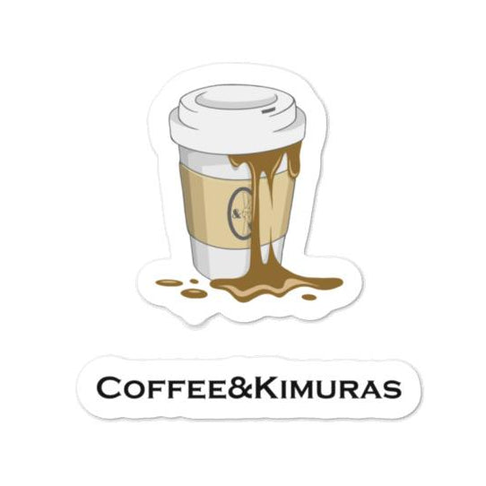 C&K x Kopt Cup Sticker Pack - Coffee&Kimuras Coffee And Kimuras BJJ Jiu Jitsu MMA Apparel