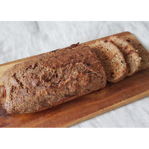RECIPE: Vegetable Juice PULP (Carrot + Ginger) Loaf