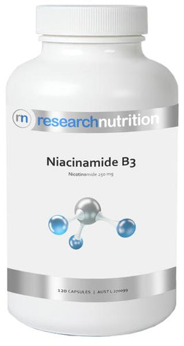 Research Nutrition Niacinamide B3 caps