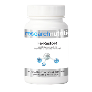 Research Nutrition Fe-Restore 30 Capsules