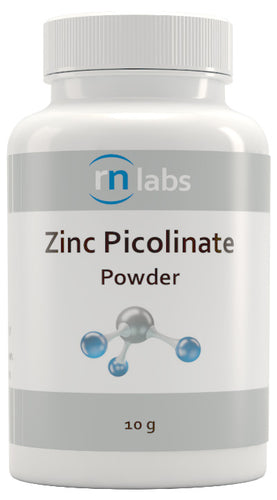 RN Labs Ultra-Pure Zinc Picolinate Powder