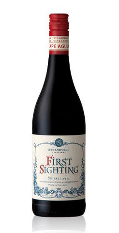 First Sighting - Shiraz - Strandveld Vineyards