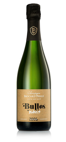 Champagne Bulles Blancs 2009 - Pierre Brocard