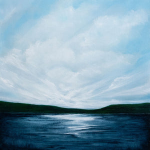 Scottish inspired landscape, the Blue Lake hold many secrets.