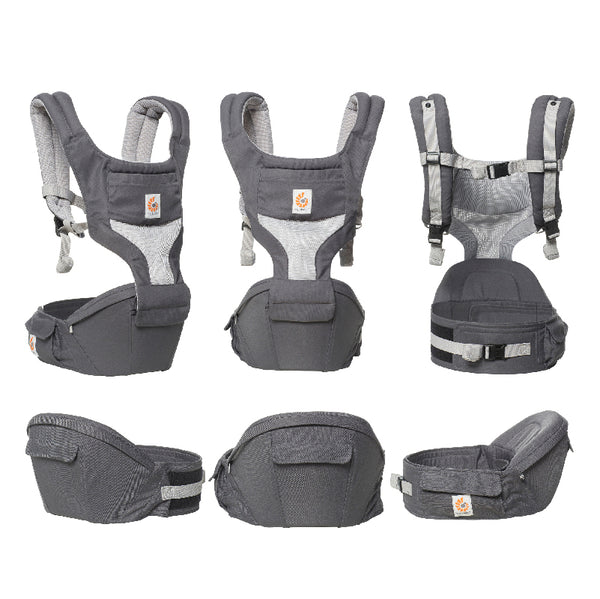 Hip Seat Cool Air Mesh : Carbon Grey