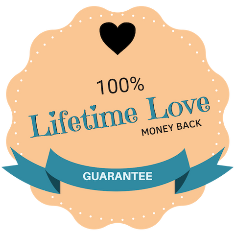Lifetime love guarantee
