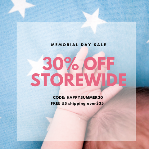 Memorial day sale 30% off