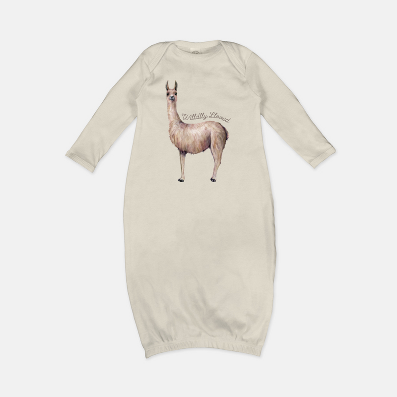 Wildly Loved Llama Gown