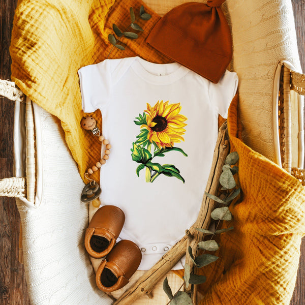Sunflower bodysuit