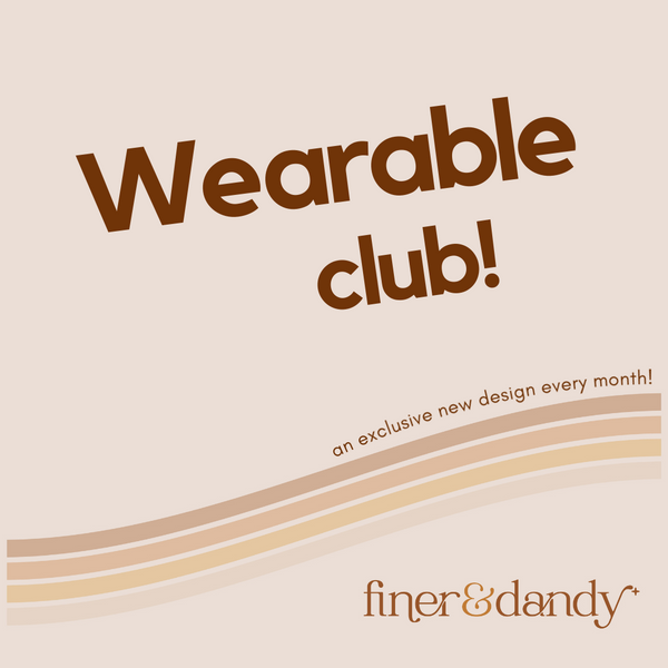 Wearable Club Adult Tee Subscription