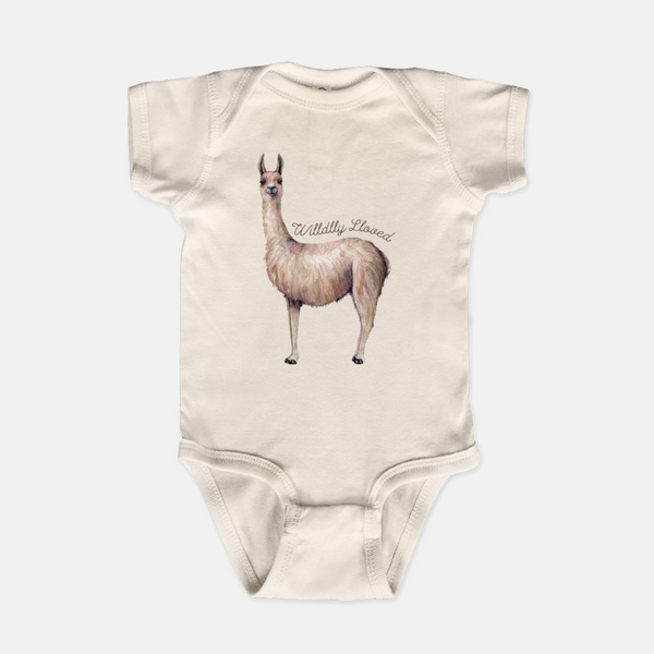 Wildly Loved Llama Bodysuit
