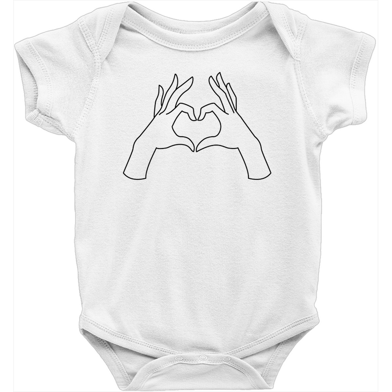 My heart bodysuit