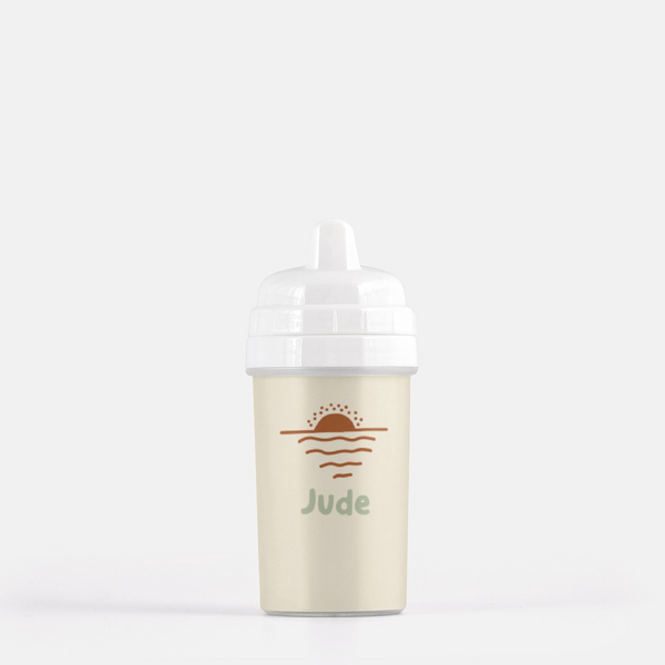 Personalized Sunset Sippy Cup