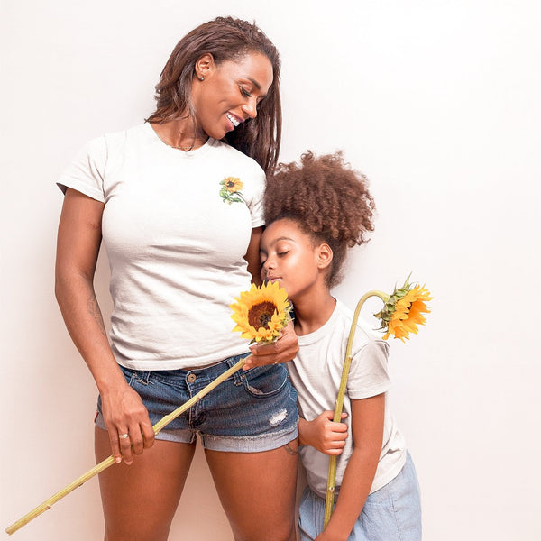Sunflower adult tee