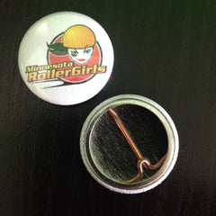 Minnesota RollerGirls Logo Pin