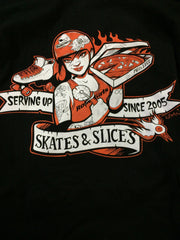 Unisex Pizza Luce/MNRG T-Shirt by Adam Turman