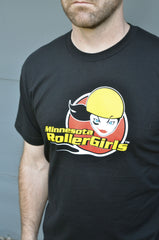 Unisex 4-Color Minnesota RollerGirls T-Shirt