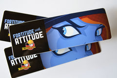 Fortitude with Attitude Sticker