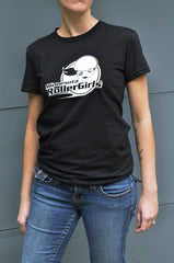 Women's T-Shirt - Black + White Logo
