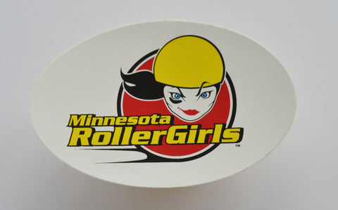 Minnesota RollerGirls Logo Sticker