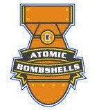 Atomic Bombshells Logo Sticker
