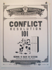Season 10 Poster: Conflict Resolution