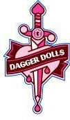 Dagger Doll Logo Sticker