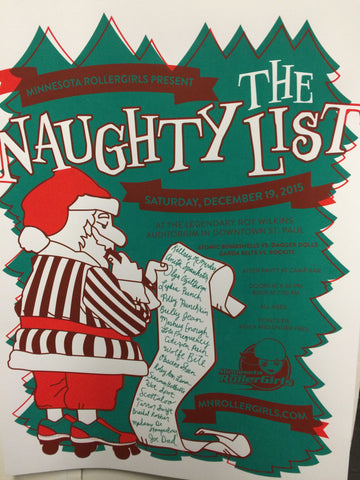 Season 12 Poster: The Naughty List