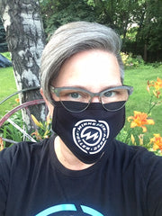 Minnesota Roller Derby Face Mask