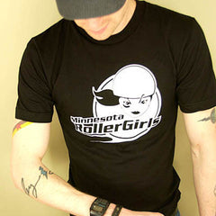 Unisex T-Shirt - Black + White Logo