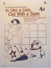 Season 9 Poster:  In Like a Lion, Out With a Slam