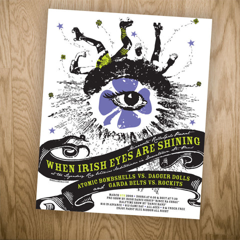 Season 4 Poster: When Irish Eyes are Shining
