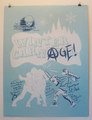 Season 10 Poster: Winter Carnage