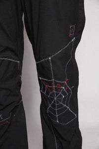 Black Pants Stitch Spider
