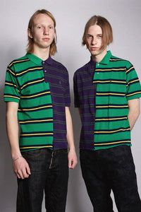 Polo Purple-Green